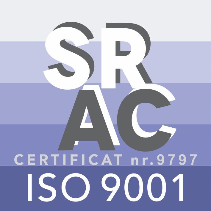 CERTIFICAT SRAC Sistem de management al calitatii - ISO 9001 : 2008