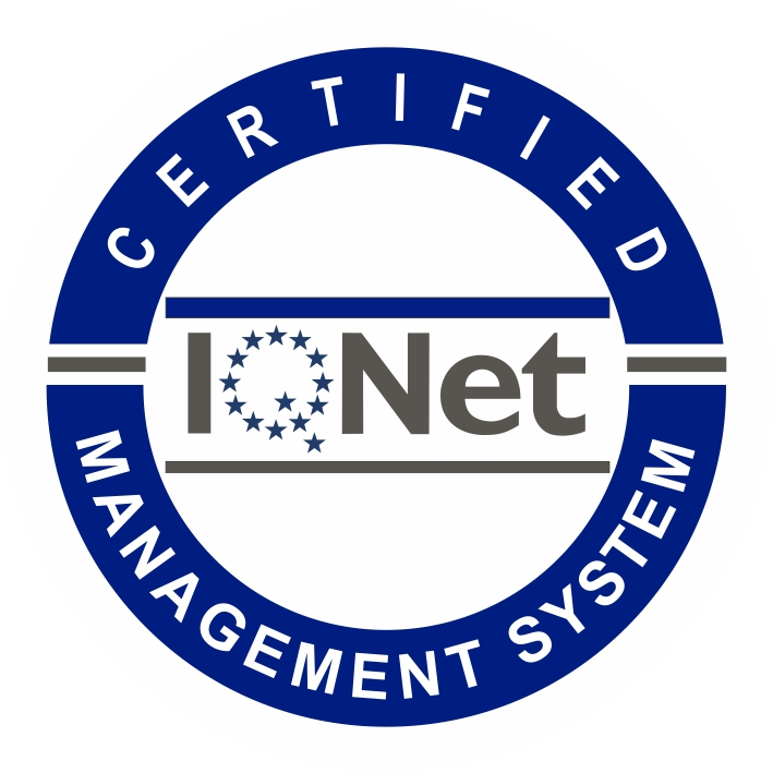 CERTIFICATE IQNet and SRAC Quality Management System - ISO 9001 : 2008